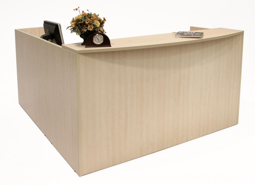 Regency legend reception desks and lobby furniture lrdrt2fp for Reception furniture